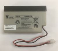 Y0.8-12 Yuasa 12v 0.8Ah Lead Acid Battery From £12.50 EX VAT Buy Online from The Battery Shop